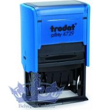 Trodat Printy 4729 ISO Dátumbélyegző